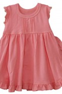 Lapsaky Toddler Ruffle Dress - Pink