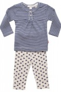 Pure Baby Girls Organic Pajamas