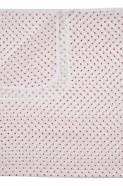 Pure Baby Muslin - Red Star