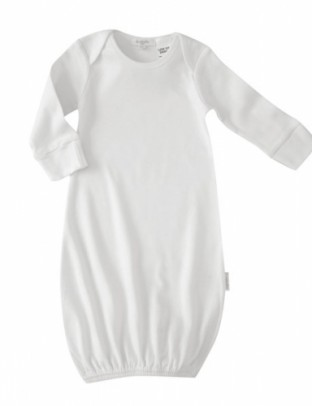 Pure Baby Sleepsuit- White